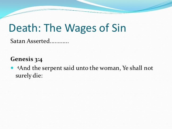 an overview of the concept of death in the bible Books of the bible  who will now ironically be put to death because of his gift of life to lazarus, will give to all who believe in him once he has been raised.