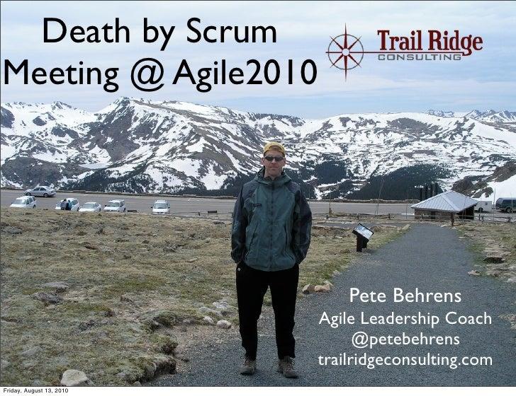 Death by Scrum Meeting Agile2010