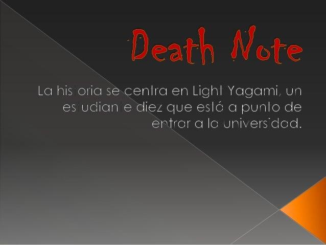 Death note. horacio german garcia