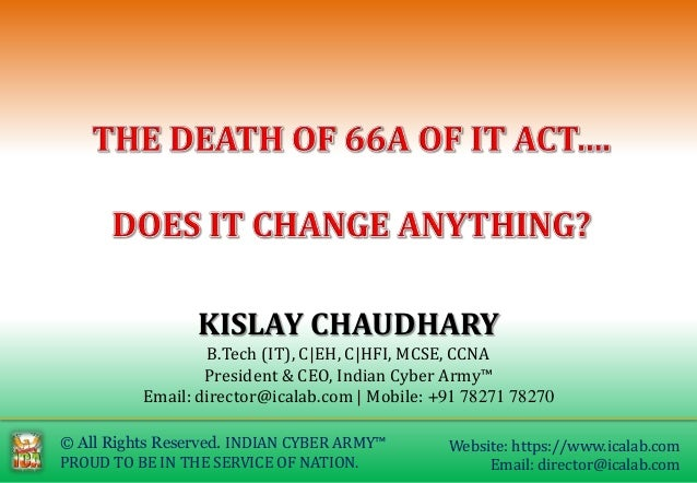 © All Rights Reserved. INDIAN CYBER ARMY™ PROUD TO BE IN THE SERVICE OF NATION. Website: https://www.icalab.com Email: dir...