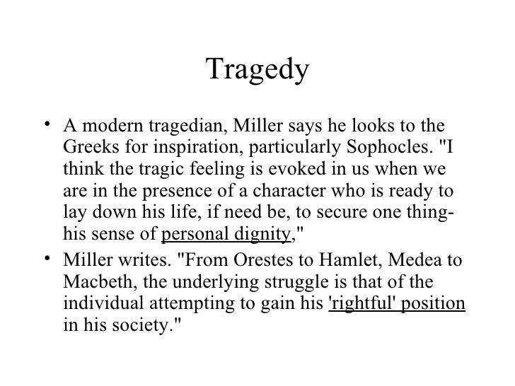 death of a salesman as a tragedy pdf