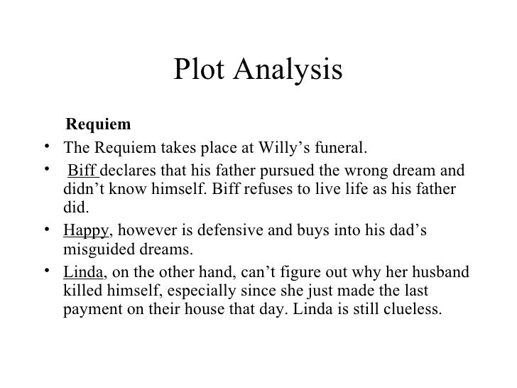 death of a sman by arthur miller  51 plot analysis
