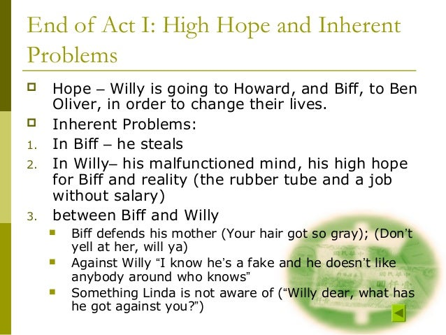the similarities between willy and biff in death of a salesman In death of a salesman, willy loman,  biff later went on to become a drifter of  the various similarities in the closing of each play include elements of.