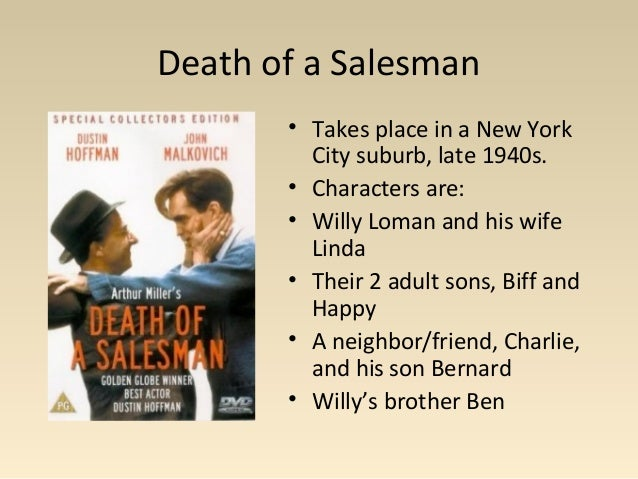 "death of a salesman minor characters essay Death of a salesman essay ""death of a salesman"" is one of the most successful plays of the all the characters of the play take different stances in the."