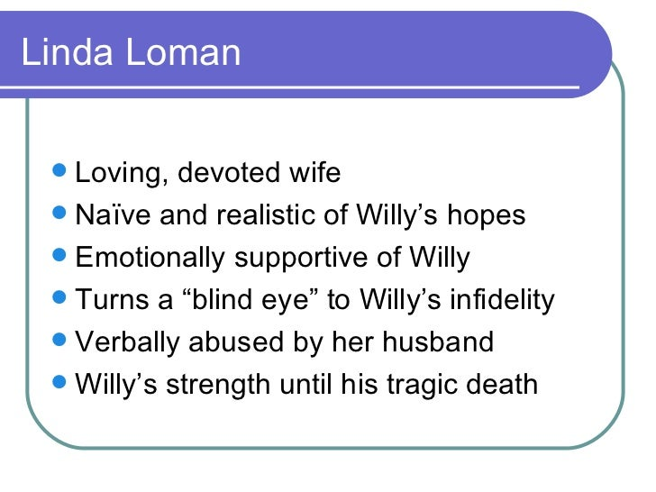 biff loman s role in death of Biff is a catalyst he drives willy's actions and thoughts, particularly his memories, throughout the play whenever willy is unable to accept the present, he r.