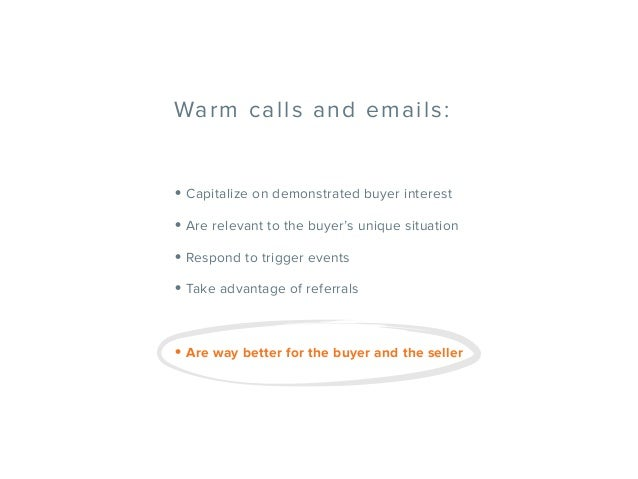 Why It's Time to Kill the Cold Call Once and For All Slide 39