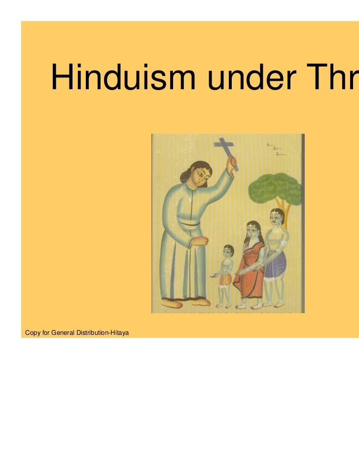 Hinduism under Threat!Copy for General Distribution-Hitaya