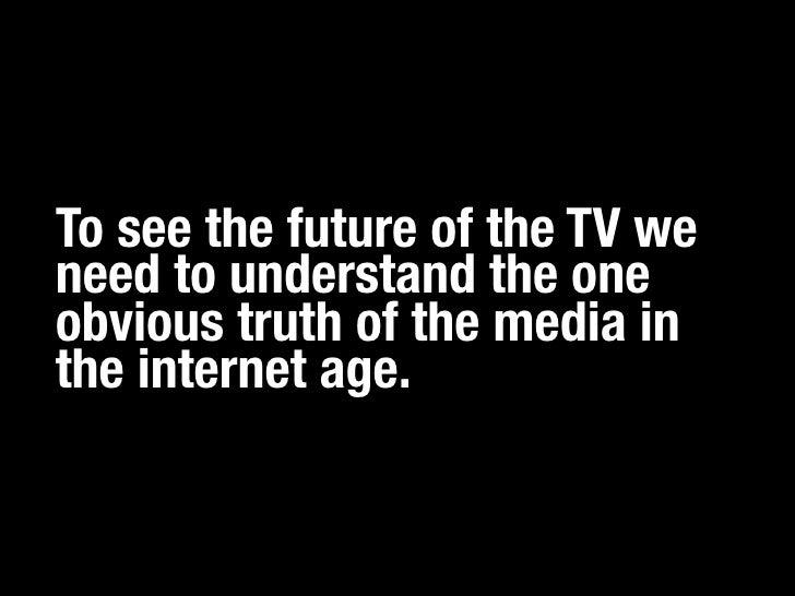The Death of TV Slide 3