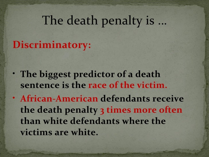 death penalty  16 the death penalty is