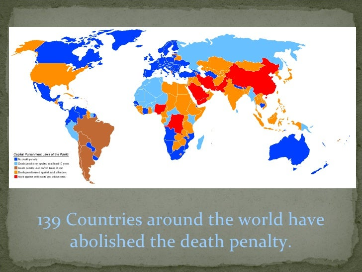 death penalty suitable for first degree Is the death penalty a necessary evil  if indeed the death penalty is a significantly stronger deterrent than the usual alternative,  at first glance,.