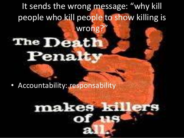 The Benefits of the Death Penalty