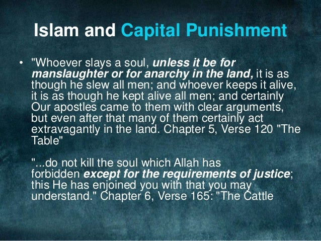Crime and Punishment in Islam 3-5