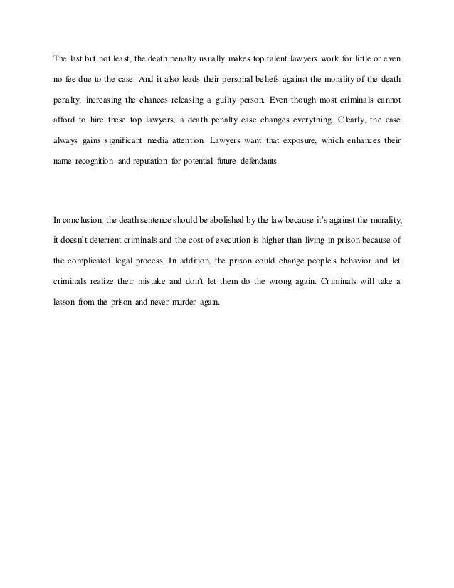 Preserve A Day Get Your Customized Essay  Miluju Jazyky Essay  Essay On The Death Penalty Aoimdns Pro Capital Punishment Essay Essay About Death  Penalty For And