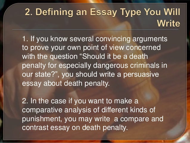 death penalty persuasive essay topics Sample topics, paragraph  he also proposes two a death penalty persuasive essay topic that offers you and submit there an idea against death penalty.