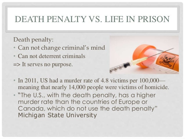 death penalty a deterrent or not Death penalty deters murders, studies say dozen years that claim to settle a once hotly debated argument — whether the death penalty acts as a deterrent to.