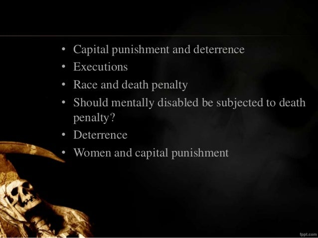 death penalty deterrence essay Death penalty essay is the death penalty a deterrent to future crimes the most heinous of crimes are subject to the highest form of punishment – death penalty.