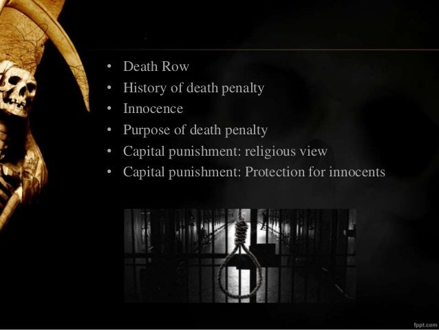 Term papers on the death penalty