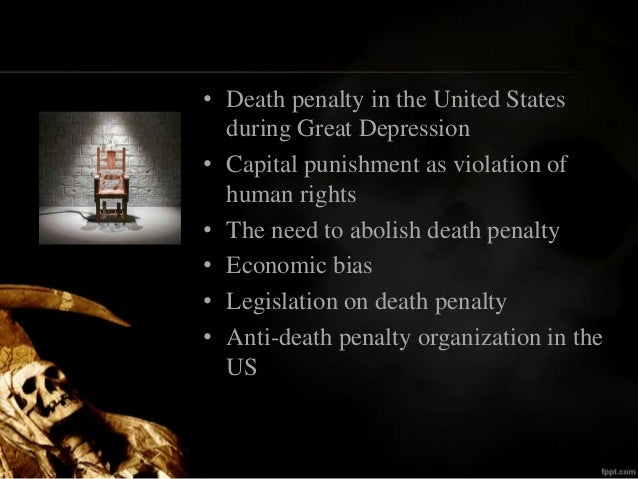 Research papers on the death penalty