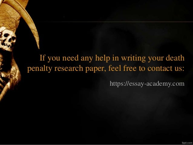 argumentative essay on is the death penalty effective The work is an argumentative essay discussing the pros and cons of death penalty.