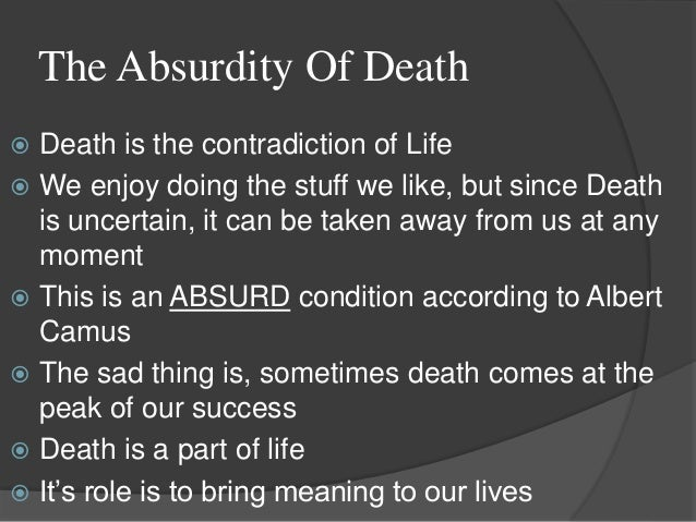 Life According to Death