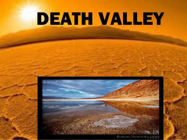 DEATH VALLEY     DEATH VALLEY