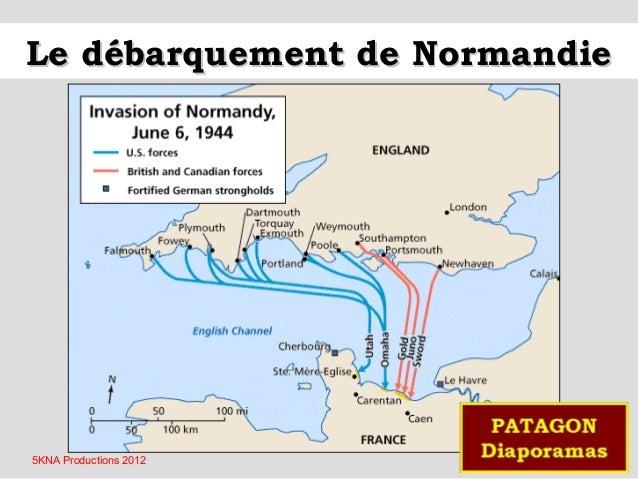 Le débarquement de Normandie  5KNA Productions 2012