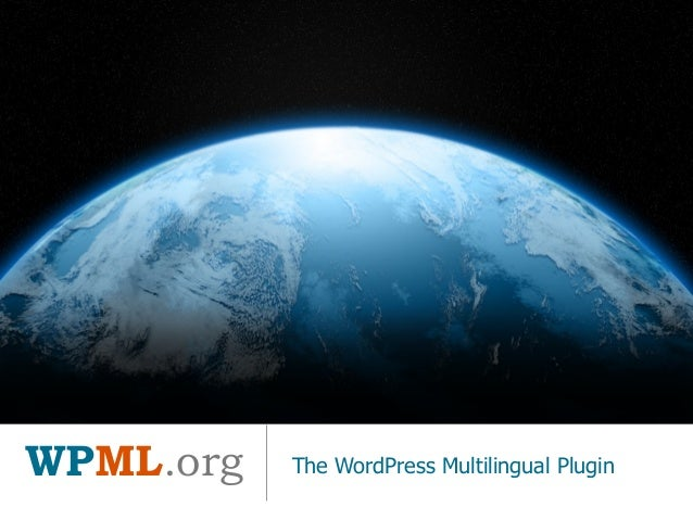 WPML.org The WordPress Multilingual Plugin