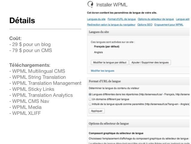 Sites multilingues – le grand débat qui va enfin tout régler  Slide 3