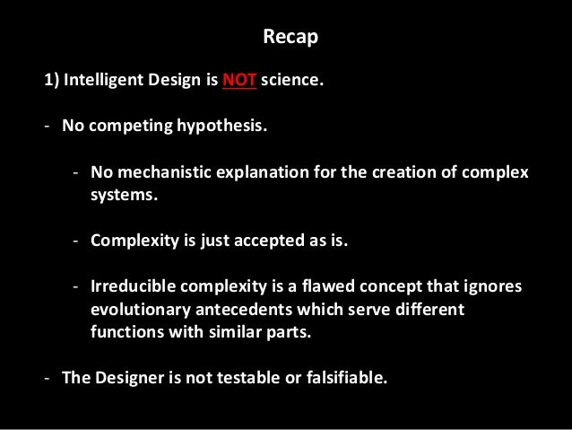 Nature Vs Intelligent Design