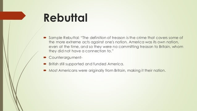 Debate powerpoint aryan mahajan p3 for Define treacherous