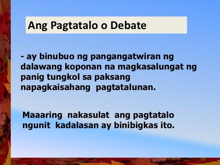 Debate Ppt