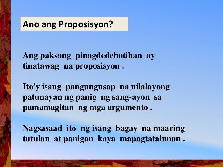 Debate ppt Slide 3