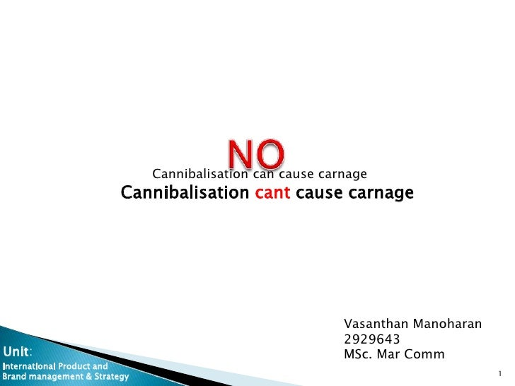 Cannibalisation can cause carnage                         Cannibalisation cant cause carnage                              ...