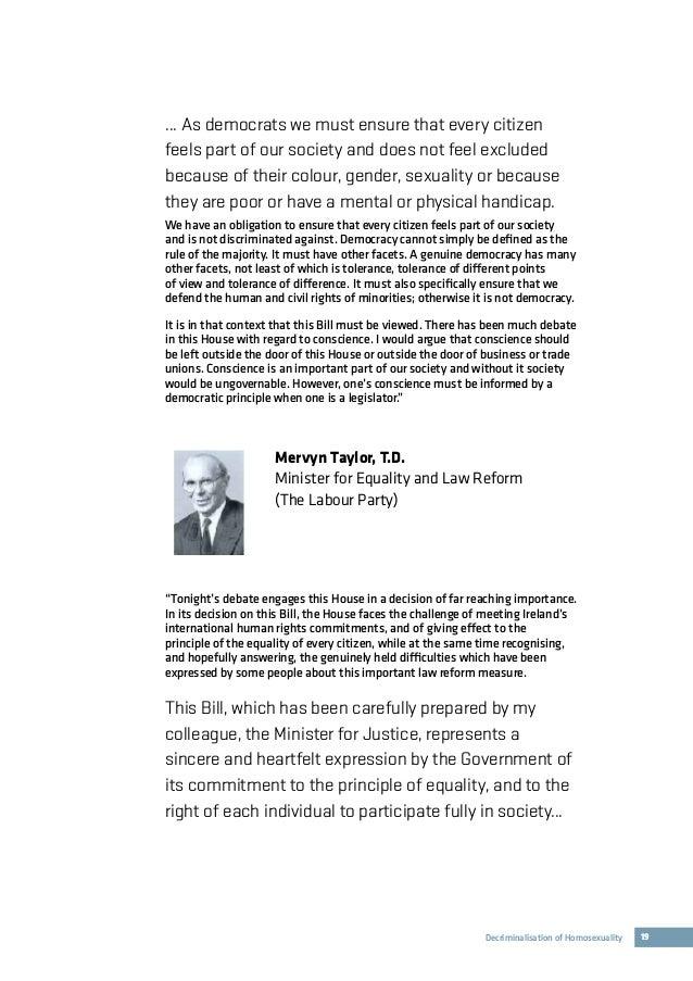 Homosexual law reform ireland