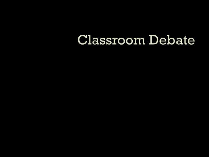 Academic Debate Teaches