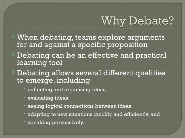 debate essay topics A thesis statement is a sentence in which you state an argument about a topic and then describe, briefly  as you work on your essay.