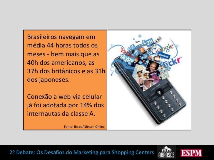 Brasileiros navegam em média 44 horas todos os meses - bem mais que as 40h dos americanos, as 37h dos britânicos e as 31h ...