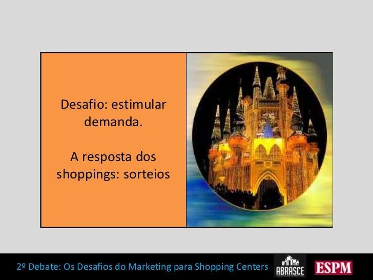 Desafio: estimular demanda. A resposta dos shoppings: sorteios<br />