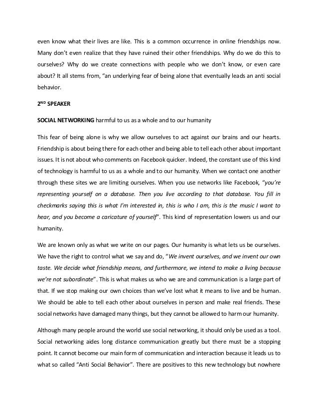 public speaking text about music