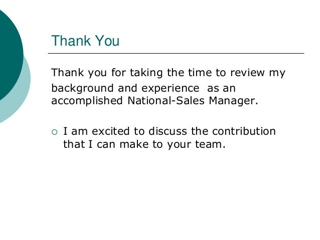Thank You Thank you for taking the time to review my ...