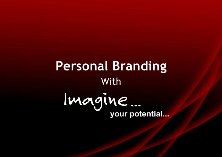 Personal Branding<br />With<br />