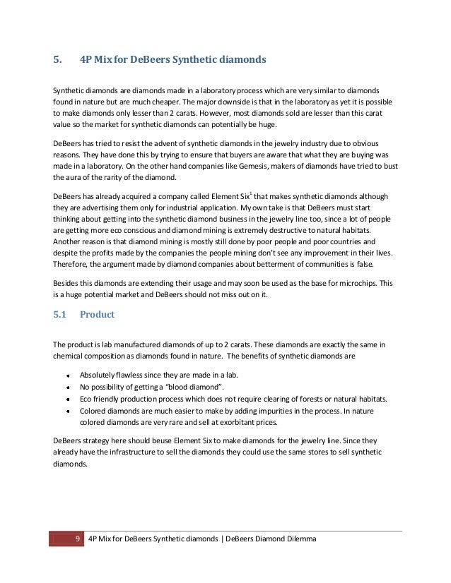 debeers case study pov Harvard business school case study (9-717-430) | case study performed by ie  business school master in management students.