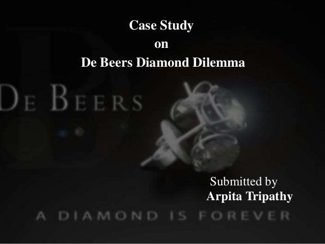 de beers diamond dilemma swot analysis