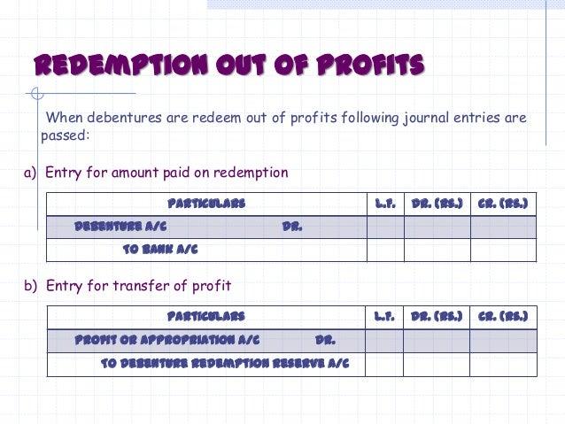 issue of debentures journal entries pdf