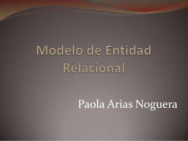 Paola Arias Noguera