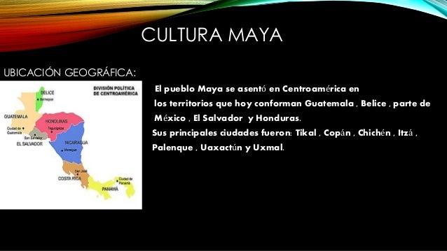 Cultura sudamericana for Cultura maya ubicacion