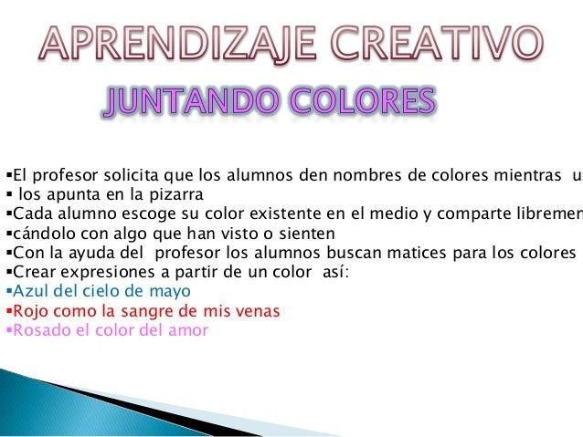 redacción creativa(lenguaje) Slide 3