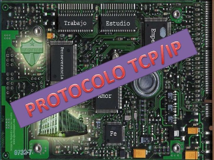 PROTOCOLO TCP/IP<br />