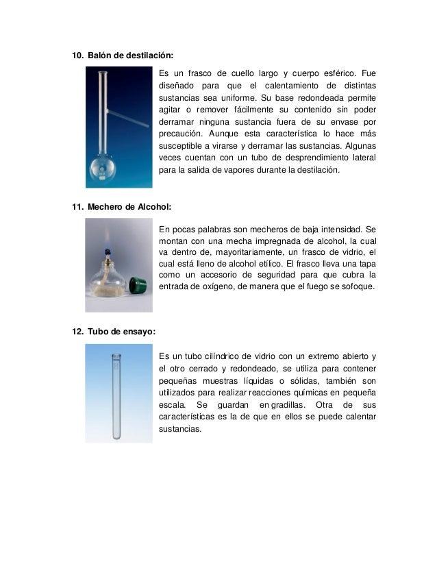 30 materiales de vidrio para laboratorio de qu mica
