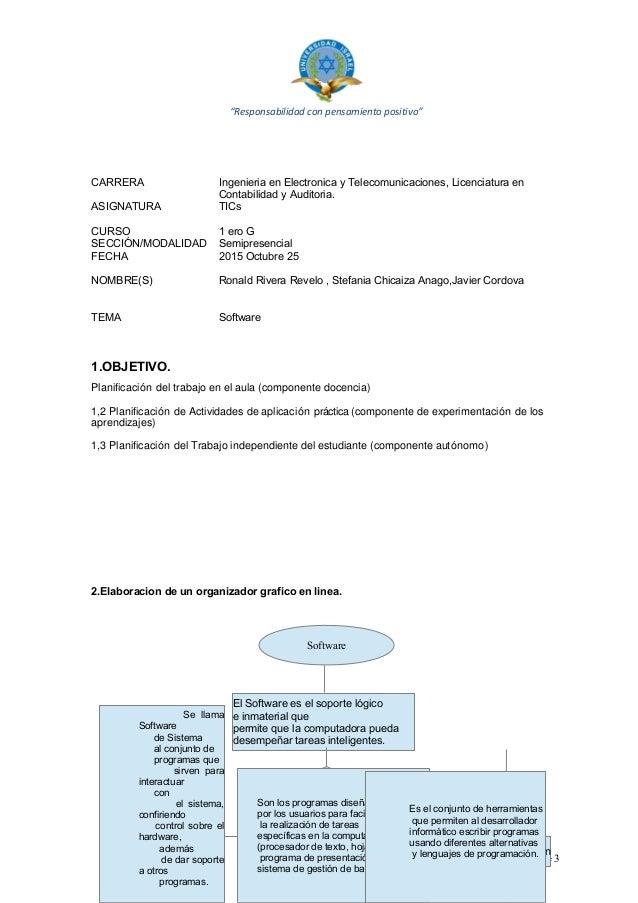 """""""Responsabilidad con pensamiento positivo"""" CARRERA Ingenieria en Electronica y Telecomunicaciones, Licenciatura en Contabi..."""